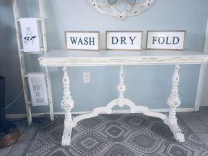 Gorgeous antique Jacobean hall table for Sale in Merritt Island, FL