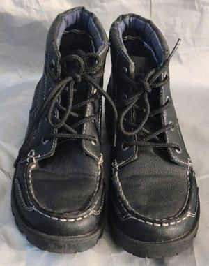 Boots-Youth Nautica Lakeside hiking/snow Boot boys size 5 girls size 6.5 Black for Sale in TN OF TONA, NY