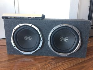 Subwoofer 2 12s with amp for Sale in Daly City, CA