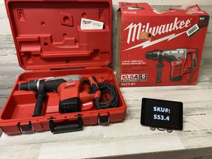 Milwaukee 1 9/16 in. SDS Max Rotary Hammer for Sale in Gilbert, AZ
