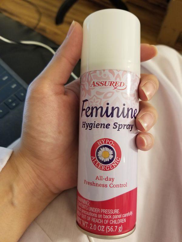 Feminine hygiene spray - new