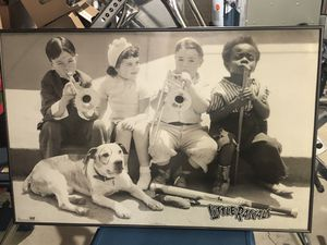 Framed picture of little rascals for Sale in Bloomington, IL