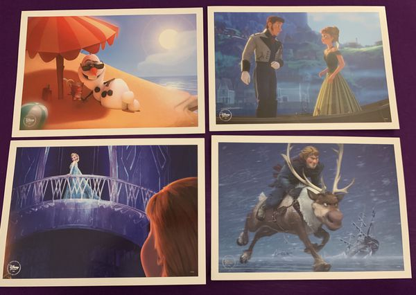 Authentic Disney Lithographs - Frozen