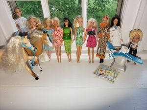 Barbies, other dolls and miscellaneous for Sale in Brazil, IN