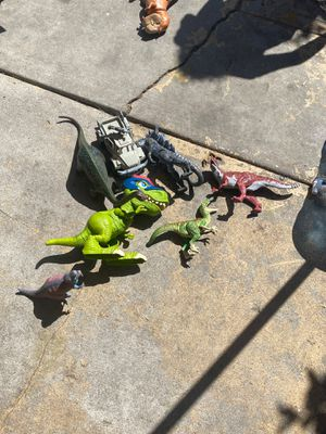 Kids toy dinosaur 7 pieces for Sale in Los Angeles, CA