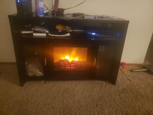Fire place stand for Sale in BETHEL, WA