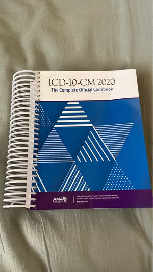 ICD-10-CM 2020 Complete Official Codebook for Sale in Tucson, AZ
