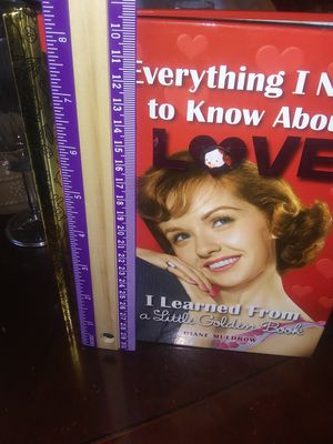 "Golden book for adults ""everything you wanted to know about love"" for Sale in Wichita, KS"