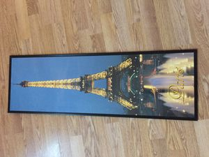 Eiffel Tower wall hanging and other home decor for Sale in San Antonio, TX