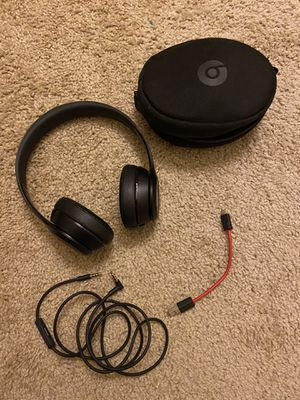 Beats solo 3 wireless headphones for Sale in Chino, CA