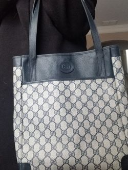 Authentic Vintage Gucci Shopper Tote for Sale in Acworth,  GA
