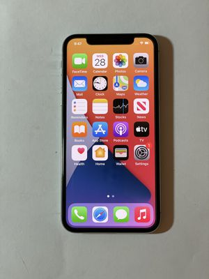 iphone x unlocked 256gb used for Sale in San Francisco, CA