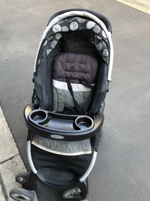 Graco Fast Action Fold Click Connect Travel System for Sale in Fremont, CA