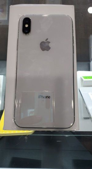 "iPhone X 64GB FACTORY UNLOCKED"" Like new with warranty for Sale in Takoma Park, MD"
