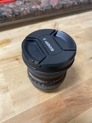 10-20mm canon wide lens for Sale in Los Angeles, CA