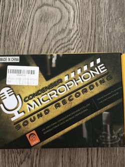 Microphone Sound Recording for Sale in San Diego,  CA