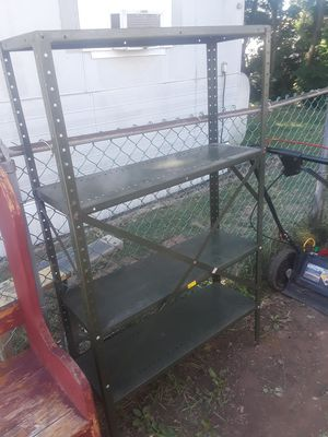 First come first serve metal shelving for Sale in Camp Hill, PA
