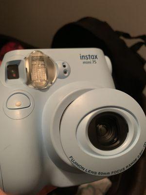 blue polaroid camera for Sale in Houston, TX