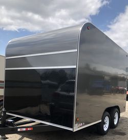 8x12x7 ENCLOSED CARGO VENDING TRAILER FOOD TRAILER for Sale in Long Beach,  CA