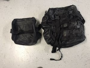 Leather back pack for Sale in Lakeside, CA