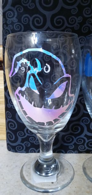 Nightmare before Christmas wine goblet for Sale in Aztec, NM