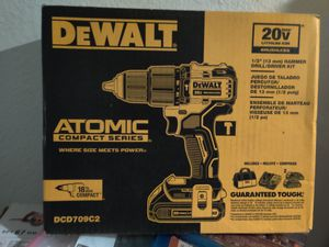 DeWalt 1/2hammer drill kit for Sale in Tacoma, WA