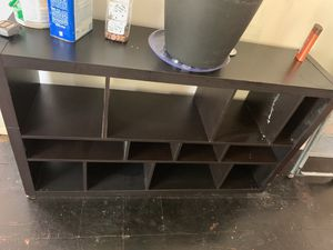 Black tv stand for Sale in Fort Washington, MD