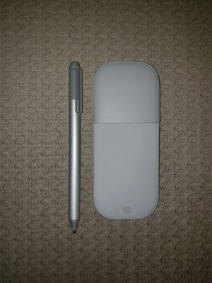 Microsoft Official Surface Pen 4096 Pressure Sensitivity and Arc Mouse for Sale in Ridgefield, NJ