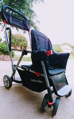 Joovy Caboose Ultralight Standing Double Stroller for Sale in Garland, TX