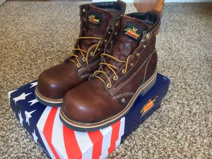 Size 8, Thorogood American Heritage Emperor Toe 804-4367 work boots for Sale in Tucson, AZ
