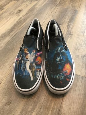 Vans Star Wars slip ons size 10.5 men's for Sale in San Diego, CA