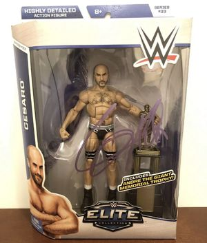 WWE Cesaro SIGNED Action Figure for Sale in Milpitas, CA