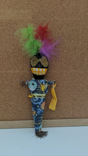 Voodoo doll, Halloween decoration for Sale in Capitola, CA