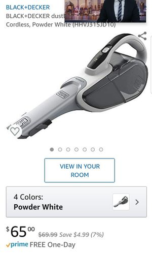 Black and decker vacuum for Sale in Maywood, CA