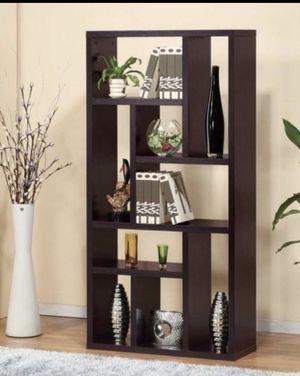 Contemporary Bookcase in Espresso for Sale in West Covina, CA