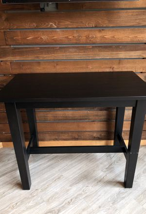 Black hightop Table for Sale in Kirkland, WA