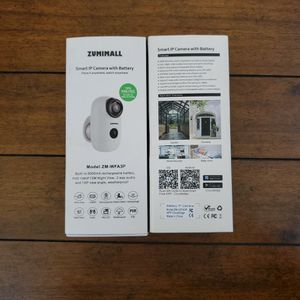 Zumimall - Smart IP Camera - ZM -WFA3P-1080 P for Sale in Lancaster, CA