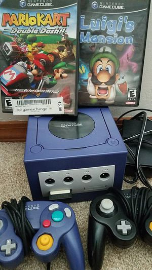 Nintendo Gamecube with 2 games for Sale in Portland, OR