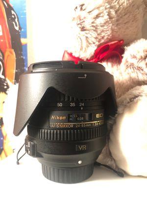 Nikon lens for Sale in Stockton, CA