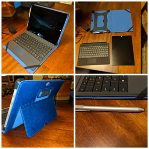 Microsoft Surface 3 10834 Intel Atom 64GB WiFi 4G LTE Unlocked Silver for Sale in Coldspring, TX