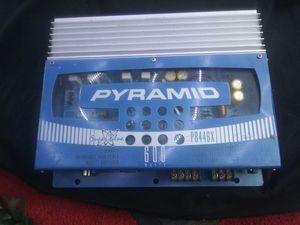 Pyramid sufer blue 600 watt amp for Sale in Corpus Christi, TX