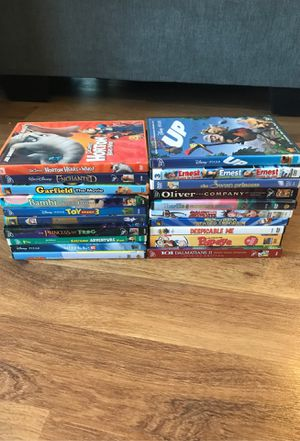 Children Disney Movie DVD Bundle for Sale in Arlington, VA