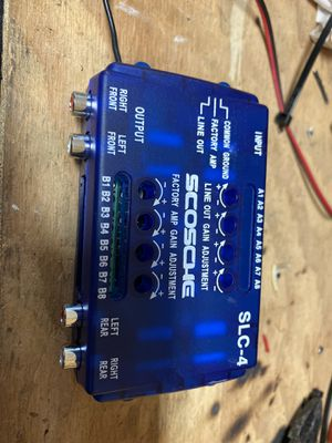 Line output converter SLC-4 for Sale in Canby, OR