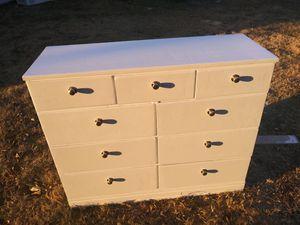 White dresser for Sale in Garland, TX