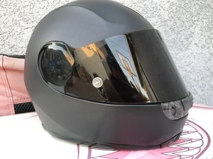 Dainese Airstream Course Matte Black full face motorcycle helmet, Medium 58, good condition for Sale in Alhambra, CA