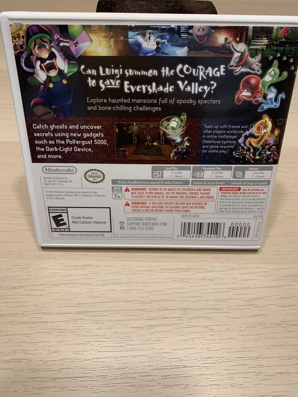 Luigi's Mansion Dark Moon for Nintendo 3DS
