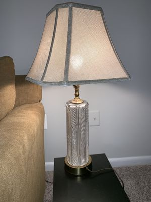 Crystal like lamps for Sale in Manassas, VA