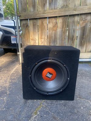 12 inches dual subwoofer for Sale in Cleveland, OH