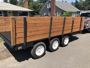 Triple axle trailer 10,000 lb hitch for Sale in Portland, OR