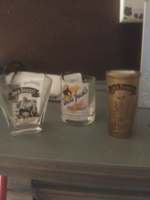 REDUCED PRICR!! Jack Daniels collectible shot glasses for Sale in Columbia, TN
